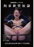 欧州拷問ハードSM 拘束鉄管奴隷