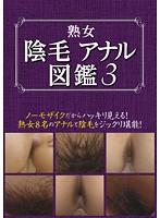 熟女 陰毛アナル図鑑 3 (DOD)