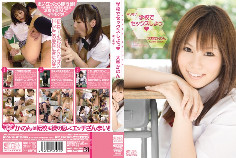 SOE-314 Risky Mosaic Firmament ~Tsu Canon To Sex At School