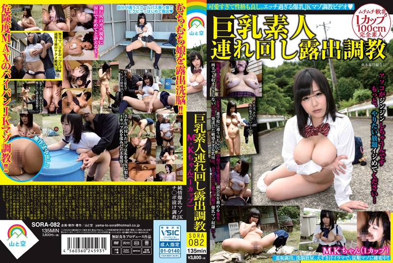 SORA-082 Busty Amateur Drag Rotation Exposed Torture MK-chan (I Cup)