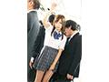 【数量限定】女子校生 強・制・連・結 満員痴漢車両 天使もえ 生写真3枚付き  No.2