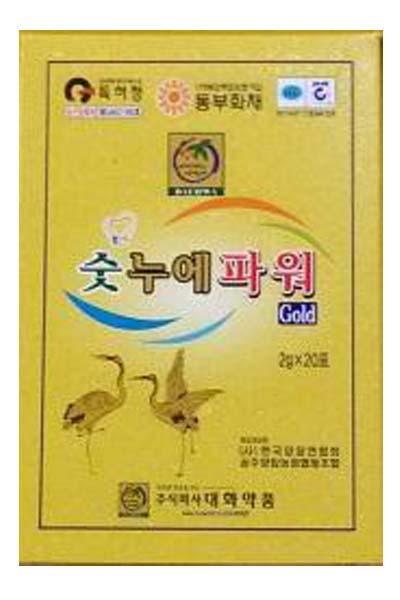 パワーグラゴールド(Powergra Gold) 2g袋×20個入[1CS][韓国人気No1][精力強化サプリ]